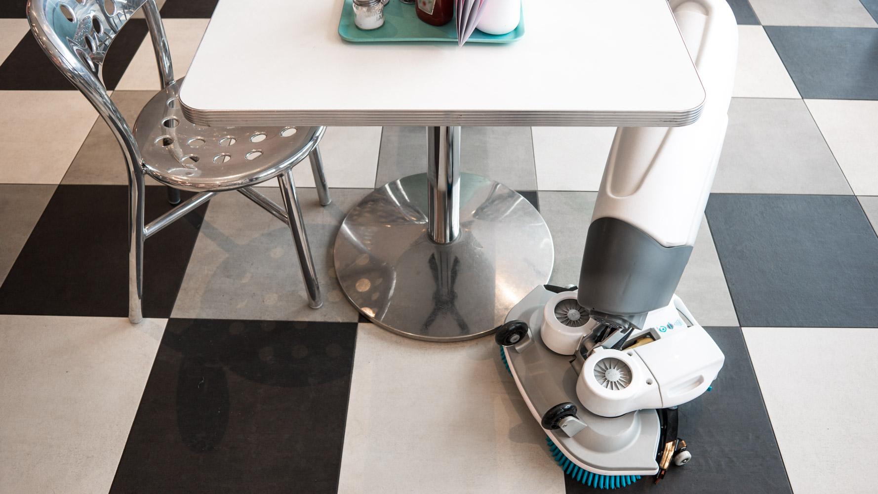 Förbättra städprocessen. Innovativa städmaskiner