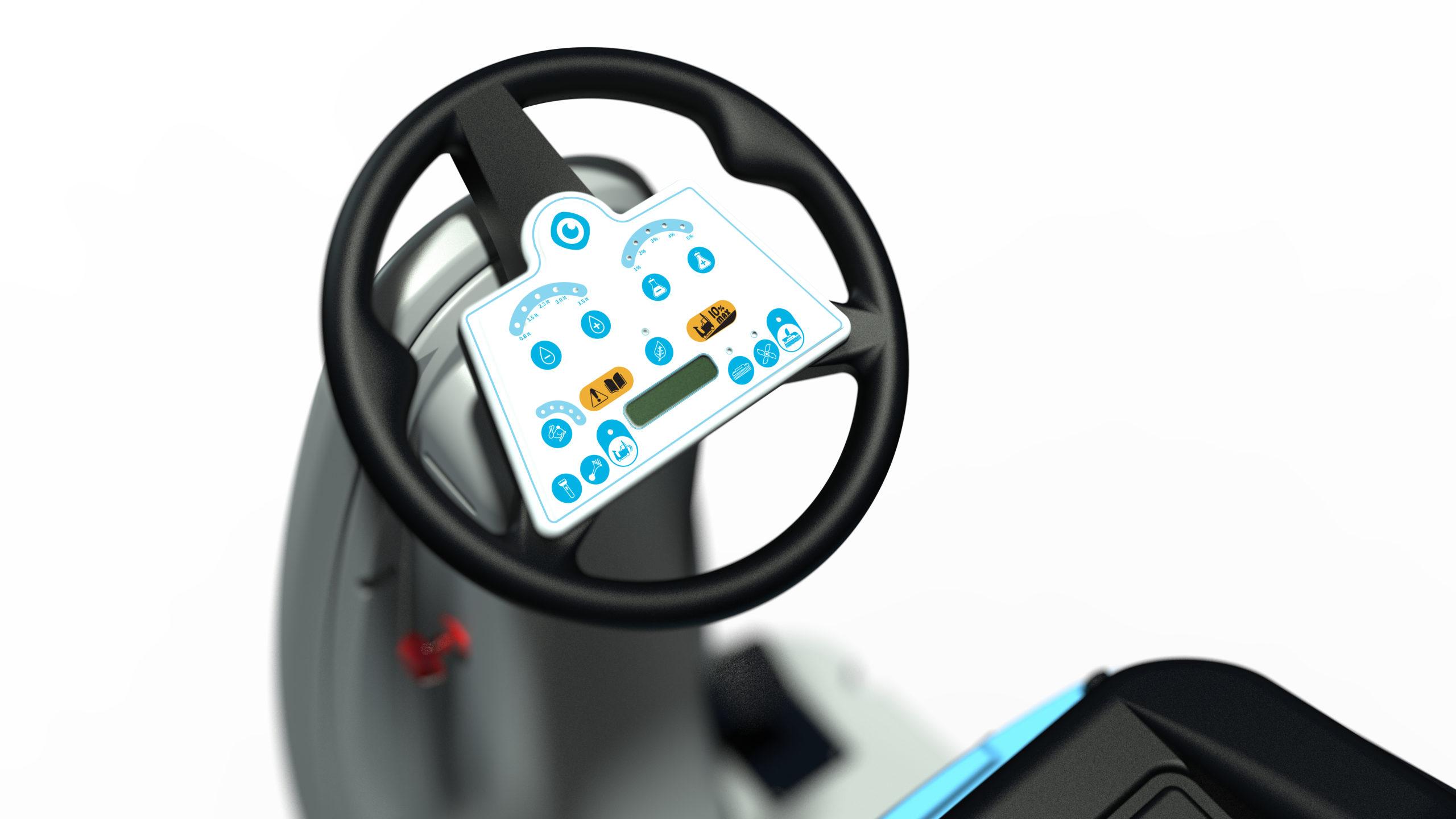 Användarvänlig - enkla kontroller
